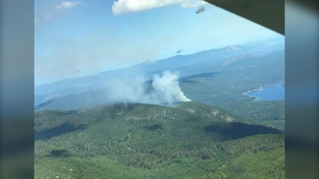 Christie Mountain Wildfire Update
