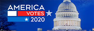 America Votes 2020 special promo image