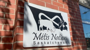 The Metis Nation-Saskatchewan office in Saskatoon is pictured Aug. 18, 2020. (Creeson Agecoutay/CTV Saskatoon)