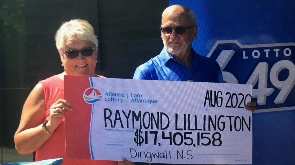 Gaye and Raymond Lillington