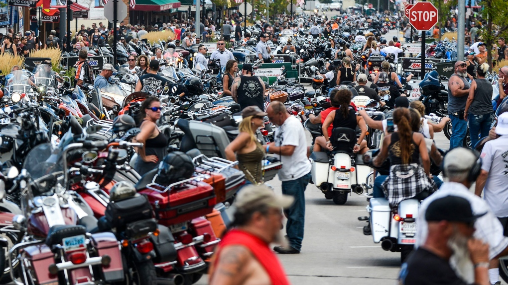 COVID-19 cases tied to the Sturgis motorcycle rally have reached across state lines | CTV News