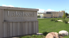 Lakehead University in Orillia, Ont. (Mike Arsalides/CTV News)