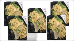 McMahon received 5 identical meals in one week.