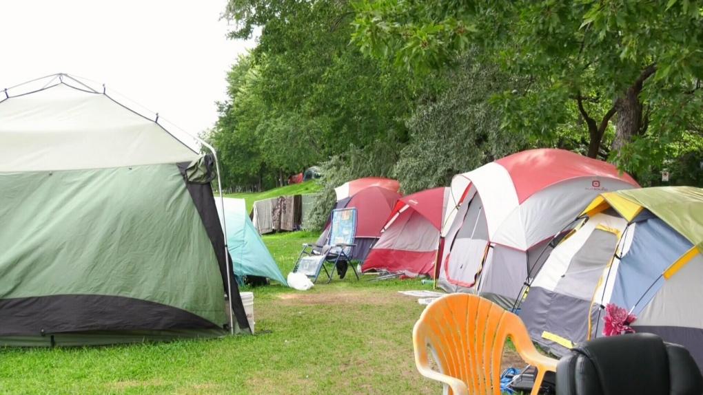 Montreal tent city