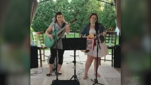 Sudbury's Chicks with Picks (Melanie Morin and Nancy Palladino) cover an Everly Brothers standard.