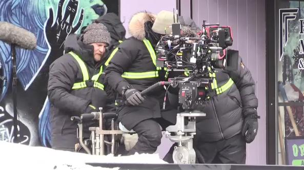Film crew in North Bay