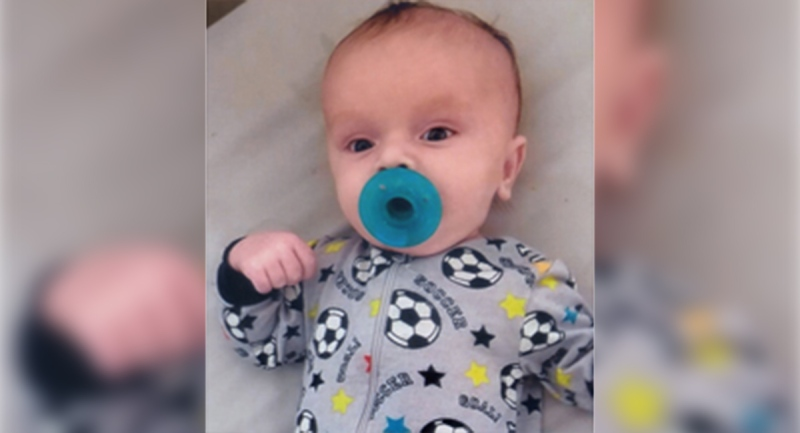 Two-month-old Liam Watson is seen in this undated image. (Source: D. J. Robb Funeral Home)