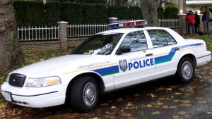 A Vancouver police car is seen in this file photo. (CP / Chuck Stoody)