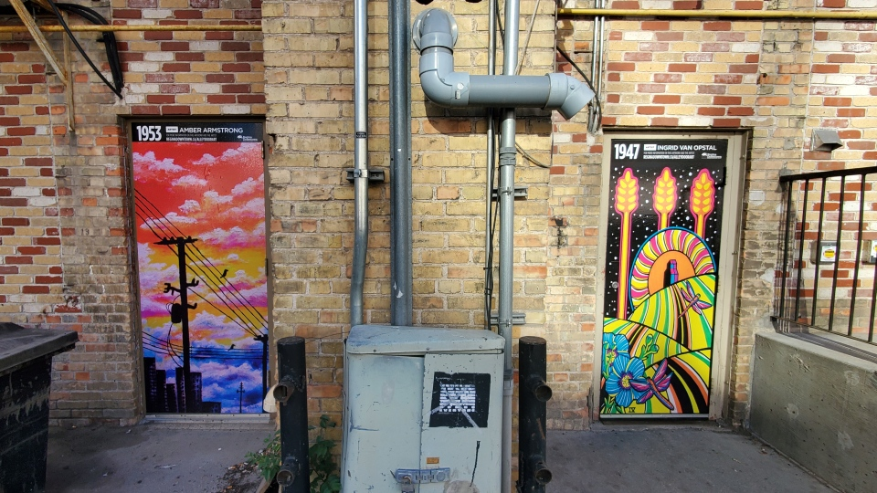 Alley art Regina