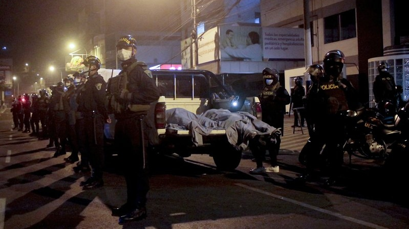 Several people crushed to death in nightclub raid