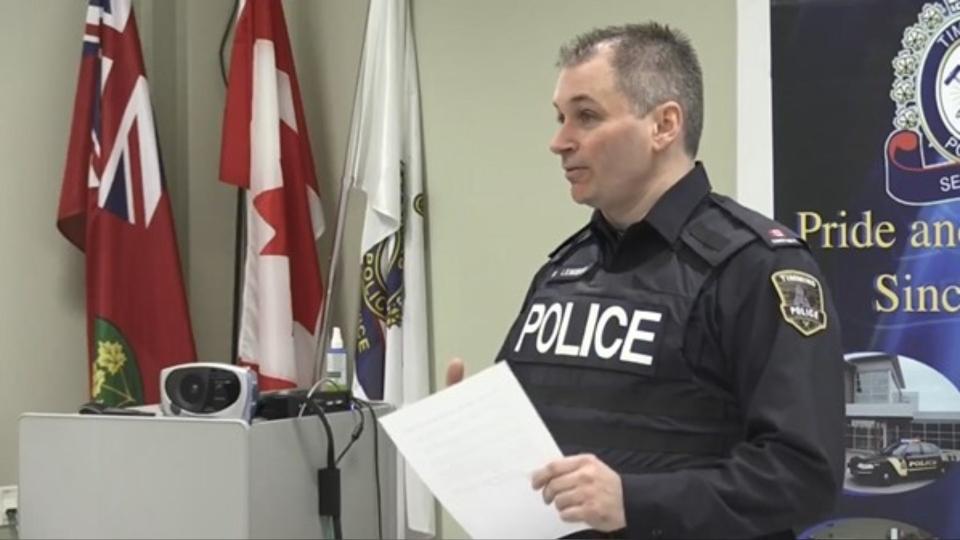 Former Constable Rick Lemieux