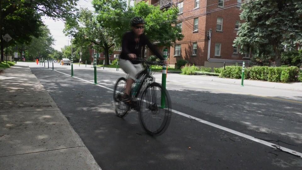 Terrebonne bike path