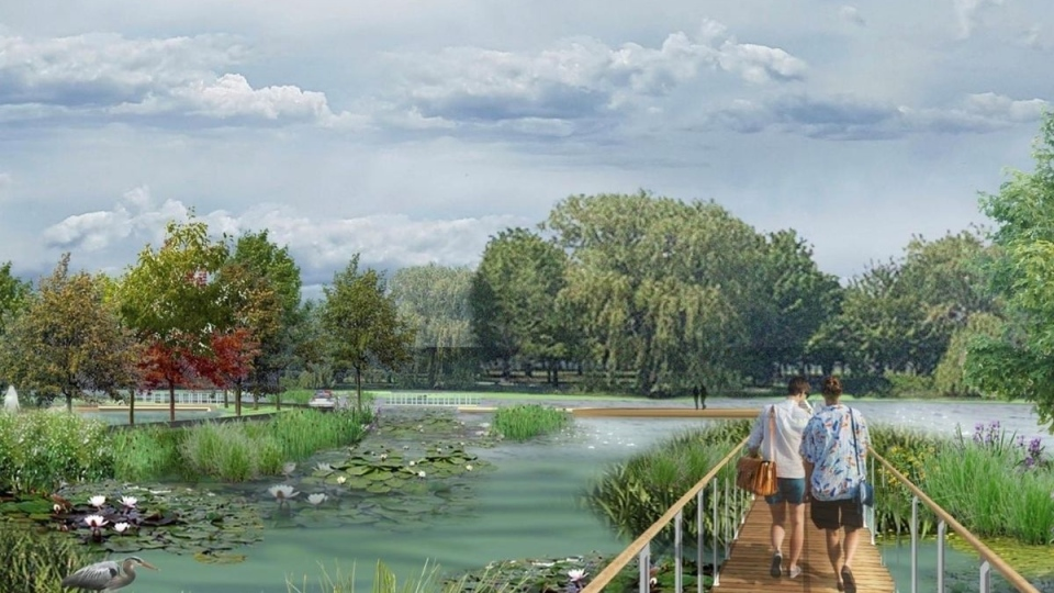 Future Lachine waterfront park