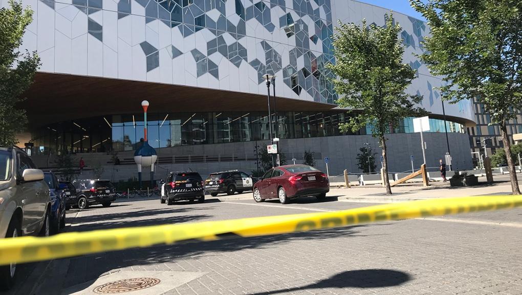 Central Library, shots fired, gunshots,
