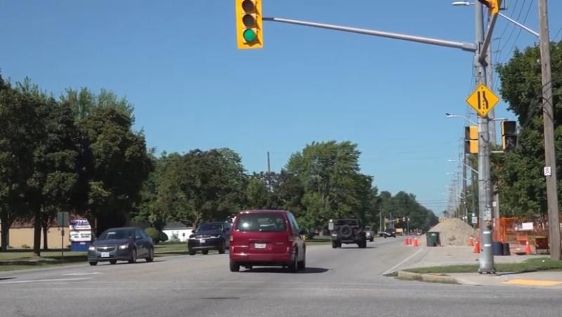 The Cabana Road corridor in Windsor, Ont. (City of Windsor / YouTube)