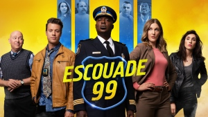 "The cast of ""Escouade 99"" is shown in this undated handout photo. Quebec's French-language adaptation of the popular American police comedy, ""Brooklyn Nine-Nine,"" is already taking heat before the first episode airs, from one of the actors in the original series. THE CANADIAN PRESS/HO, Videotron"