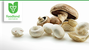 Foodland Ontario Mushrooms