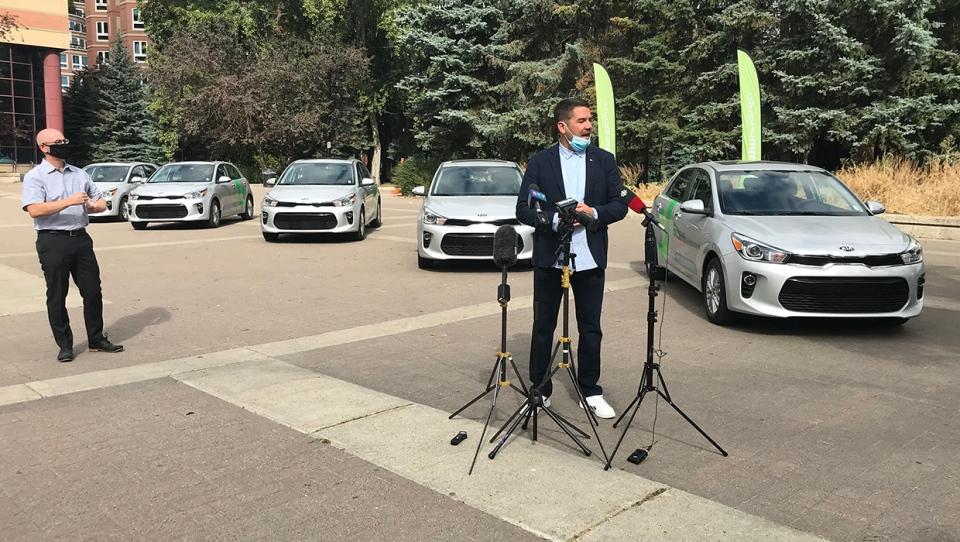 Communauto, Calgary, Benoit Robert