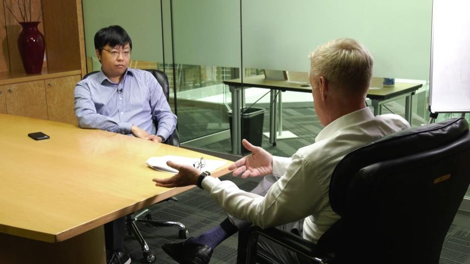 Simon Lin speaks with Ross McLaughlin.