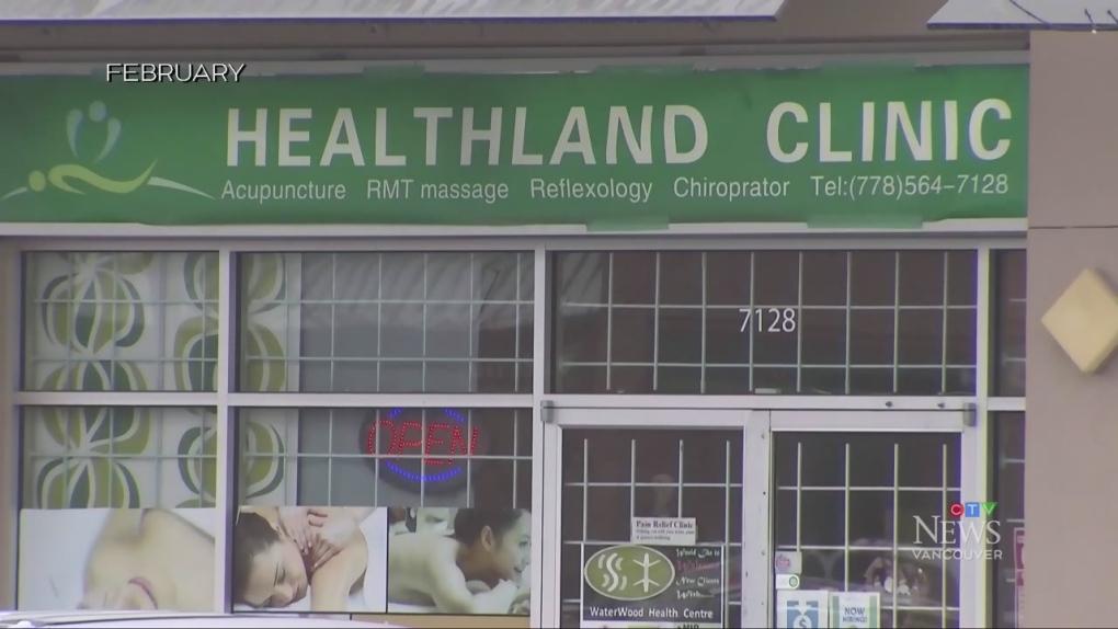 Arrest after alleged sex assault during massage