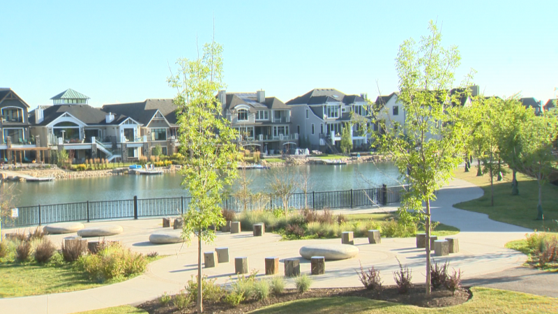 Our Show-home parade profiles Westman Village which offers of resort style lake side living in the SE community of Mahogany