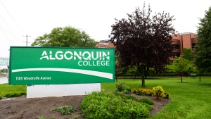 Algonquin College in Ottawa on Thursday, Aug. 27, 2020. (Sean Kilpatrick/THE CANADIAN PRESS)