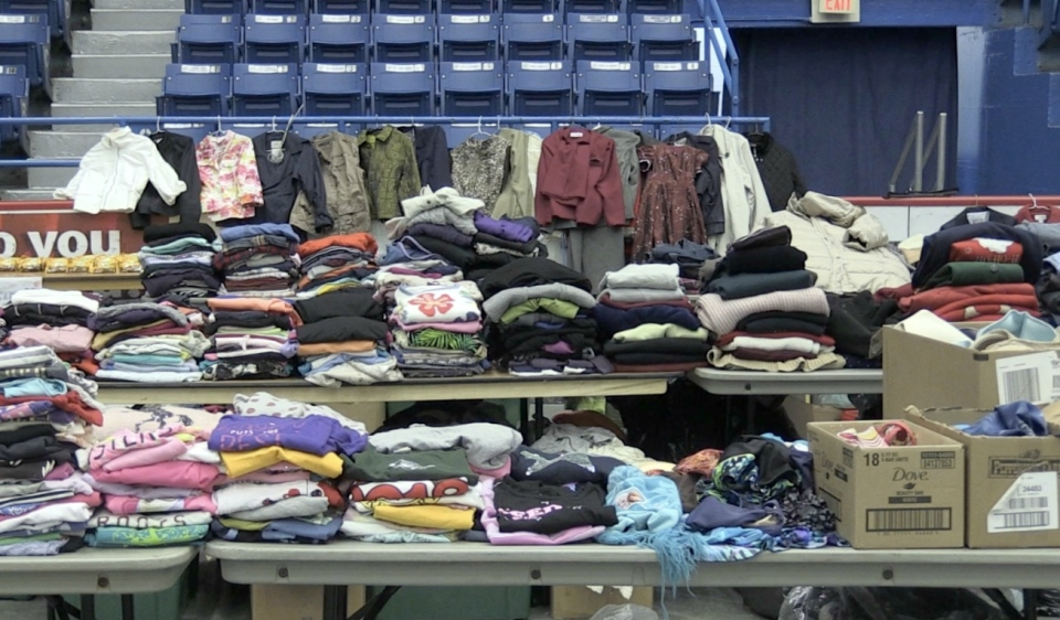 At the beginning of June, the store Homeless of Champions opened its doors, offering gently used clothing to the homeless, as well as shoes and personal hygiene products. But the store will now close Sept. 5. (Molly Frommer/CTV News)