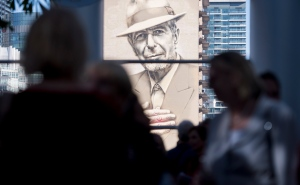 "A mural of Leonard Cohen in Montreal, Friday, September 20, 2019. The late singer/songwriter's estate said he would not be impressed with the Republican National Convention's use of his iconic song ""Hallelujah."" THE CANADIAN PRESS/Graham Hughes"