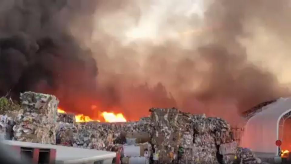 Massive fire in Richmond