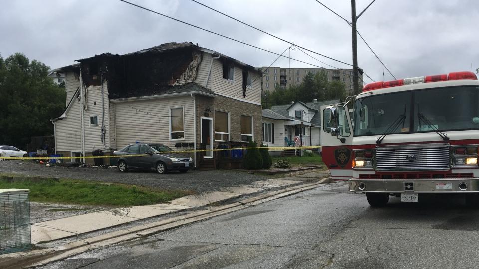 Fire at St.Joseph Street in Sudbury