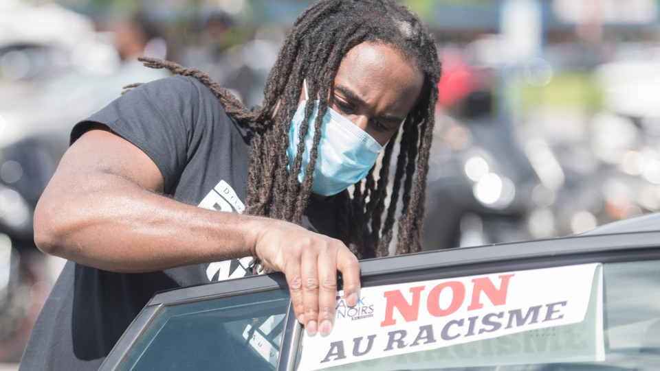 Driving While Black protest in Montreal