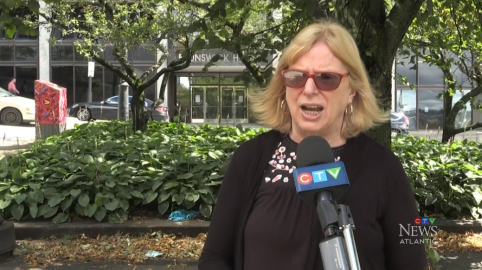 """Our tax structure in New Brunswick is outdated and it needs to be changed. It needs to be reviewed, it needs to be studied,"" says Saint John deputy mayor Shirley McAlary."