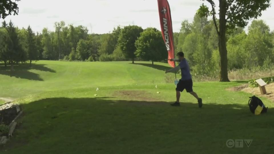 disc golf in baden