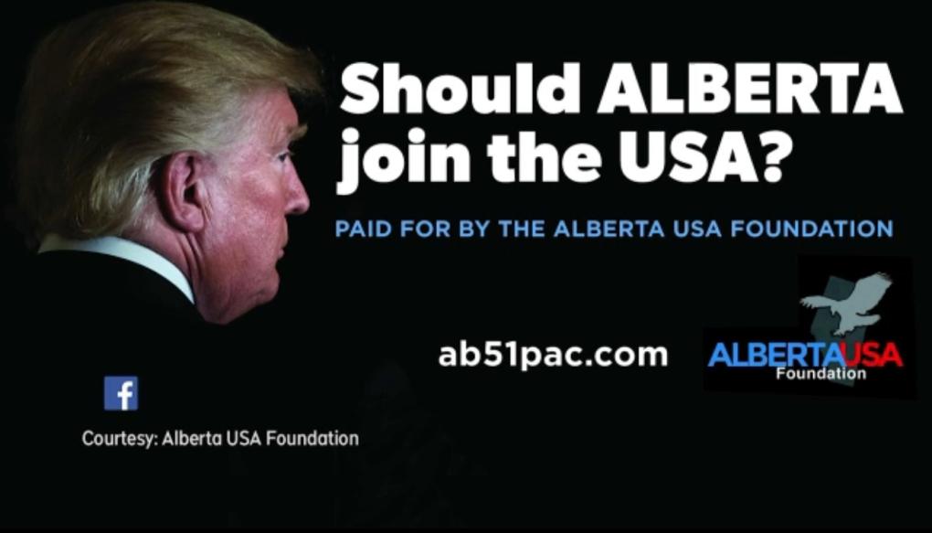 Alberta USA billboards.