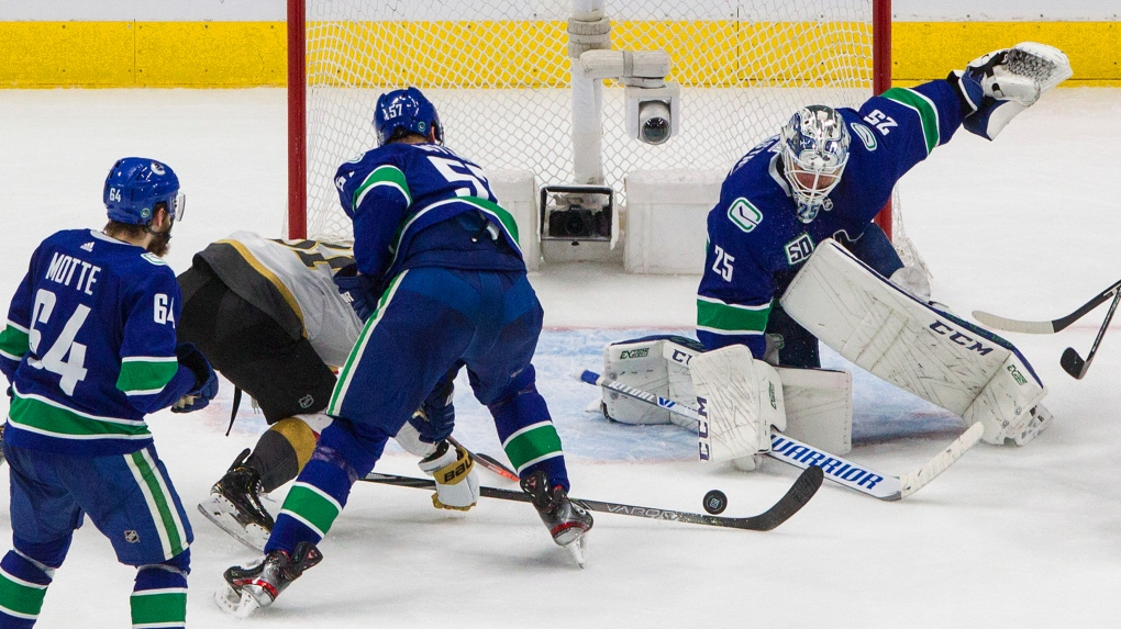 Canucks Vs Golden Knights Vancouver Knows It Needs To Step Up Defence In Game 6 Against Vegas Ctv News