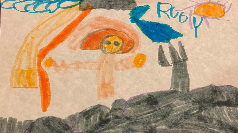 Ruby, 5 years old, Senior Kindergarten, Nepean