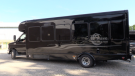 A Wave Limo and Tours vehicle is ready to take students to school in Exeter, Ont. on Monday, Aug. 31, 2020. (Scott Miller / CTV News)