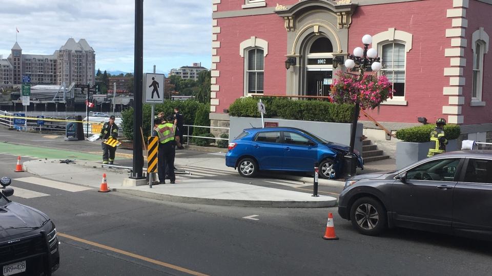 bike lane crash