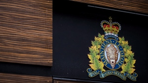 """The RCMP logo is seen outside Royal Canadian Mounted Police """"E"""" Division Headquarters, in Surrey, B.C., on Friday April 13, 2018. A lawyer representing eight news media outlets is challenging decisions made by a Nova Scotia provincial court judge regarding the redaction of RCMP search warrants used in the investigation of the mass shooting in April that claimed 22 lives. THE CANADIAN PRESS/Darryl Dyck"""