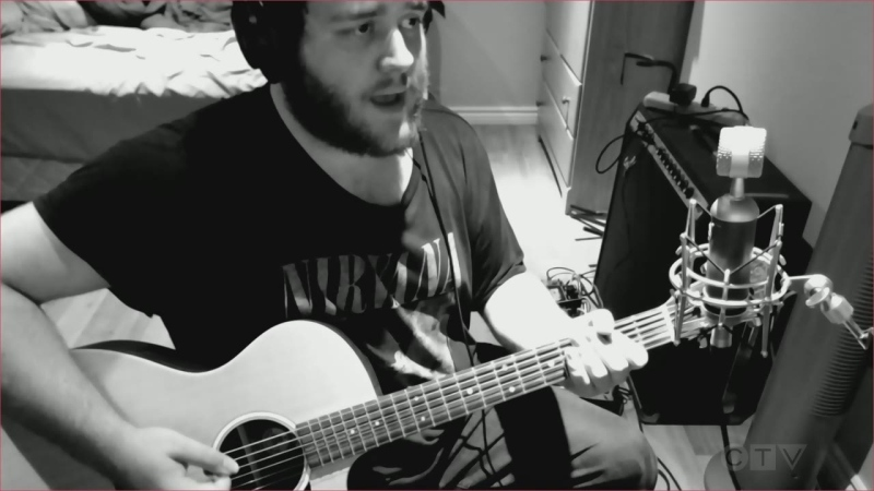 Coniston's Nathaniel Lalonde covers 'Heart-shaped Box' by Nirvana.