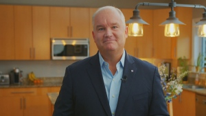 Conservative Leader Erin O'Toole speaks with CTV's Your Morning on Tuesday, Sept. 1, 2020. Asked about systemic racism in Canada, O'Toole said these discussions need to be 'more than a Twitter exchange.'