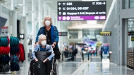 At Toronto's Pearson International Airport on June 23, 2020. (Nathan Denette / THE CANADIAN PRESS)