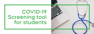COVID-19 screening tool for students