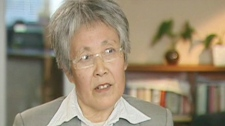 Yang Baoying, the mother of murder victim Wei Amanda Zhao, speaks with CTV News Tuesday, Oct. 13, 2009.