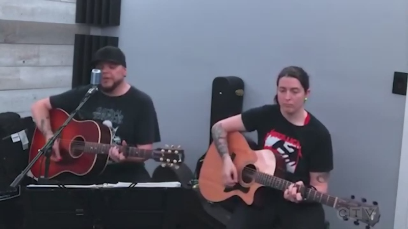 Sudbury's Erik Boissineau and Tiffany Stocco cover 'Hurt' by Nine Inch Nails.