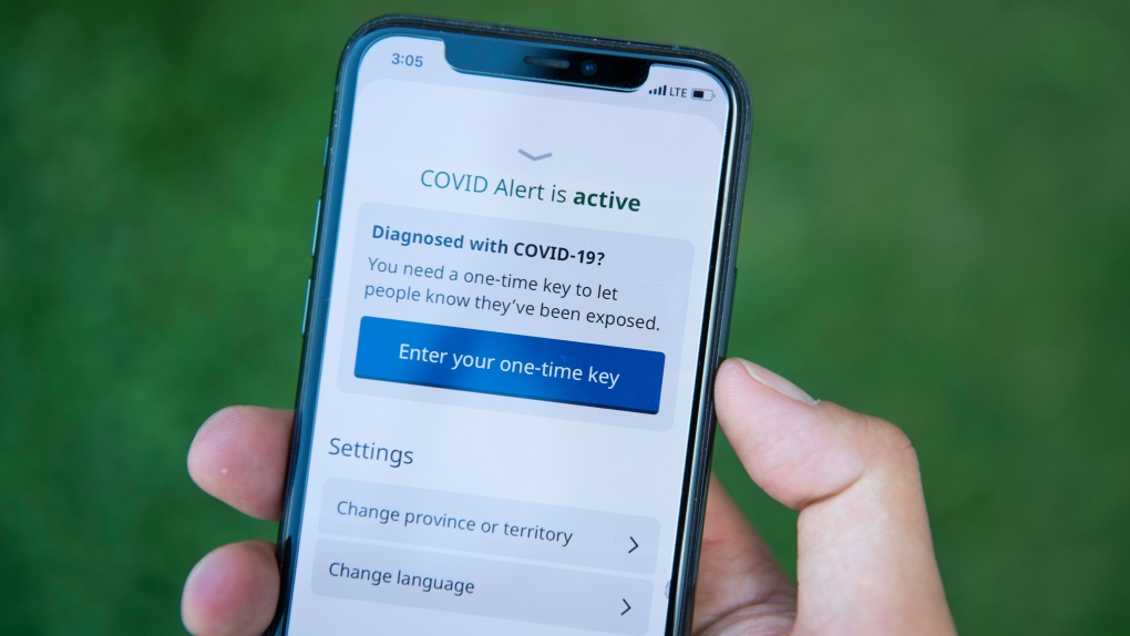 Some Canadians Never Received One Time Key For Covid Alert App After Positive Coronavirus Test Ctv News