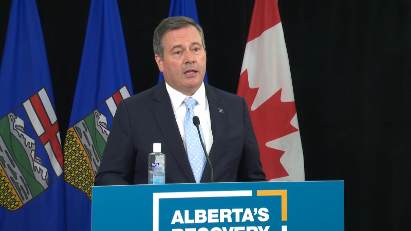 Premier Jason Kenney, Health Minister Tyler Shandro, Finance Minister Tyler Toews and Dr. Verna Yiu will highlight the province's funding commitment to its health system and pandemic response. (file)