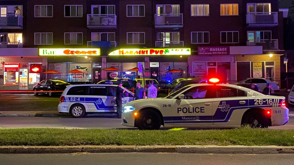 Police work in LaSalle after shooting