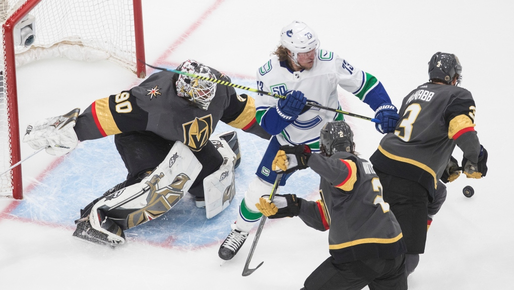 Golden Knights look to secure series win over the Canucks