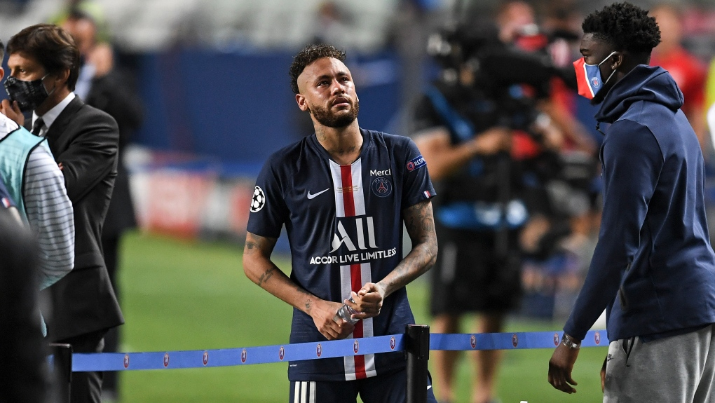 PSG's Neymar tests positive for COVID-19